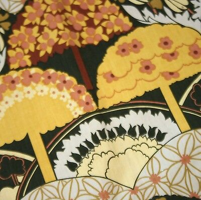 Vintage HEALS  'TREE TOPS' by GRACE SULLIVAN 1970s Textile piece....