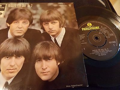 EP-The Beatles-Beatles for sale No.2-UK
