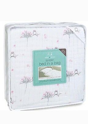 Bedding Set Aden and Anais Toddler Bed in a Bag For the Birds Owl  Dream Blanket