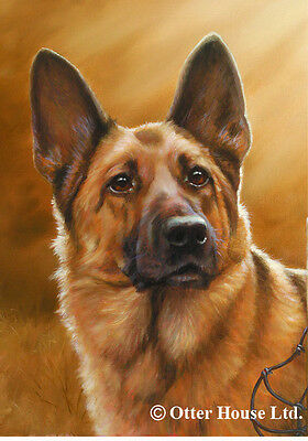 Garden Indoor/Outdoor Portrait Flag - German Shepherd (JS) 500031
