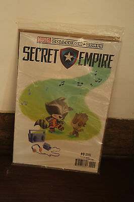 Marvel Collector Corps Exclusive Secret Empire #0 Variant Edition GOTG2