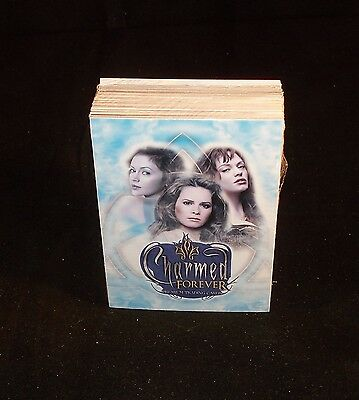 CHARMED FOREVER   Complete Trading Card Set