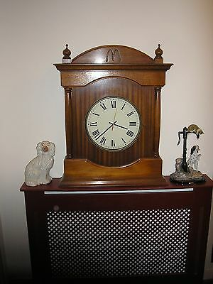 "Large Vintage ""macdonalds"" Wall / Mantle Clock Perfect Order"