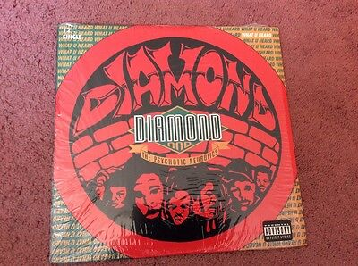 "Diamond What U Heard / I'm Outta Here / You Can't Front 12"" single"