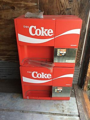 Pair Coca-Cola soda machine BreakMate Siemens for parts