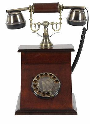 Darby Home Co® Ancient Metal Telephone