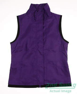 New Womens EP Pro Golf Vest Small S Purple MSRP $98