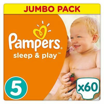 Pampers Sleep & Play Taille 5 11-23 kg - 60 Couches