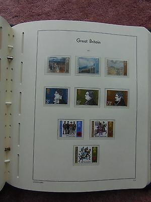 LIGHTHOUSE Illustrated Album 2 Pages Great Britain Commemorative 1971 Leaves