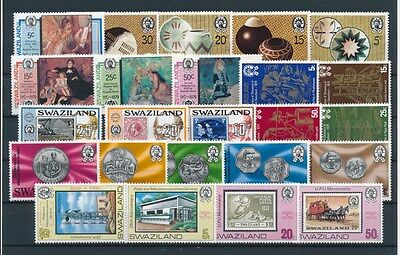 [G94905] Swaziland good lot Very Fine MNH stamps