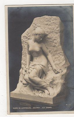 Musee du Luxembourg, Boucher Aux Champs RP Postcard, B274