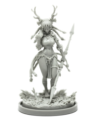 █ 30mm Resin KD DRUID Unpainted Unassembled ONLY Figure WH100