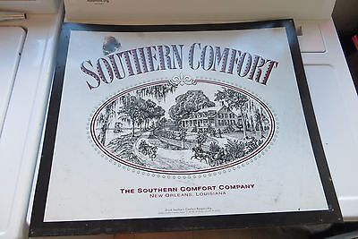 Southern Comfort company liquor advertising 25 year old large store display sign