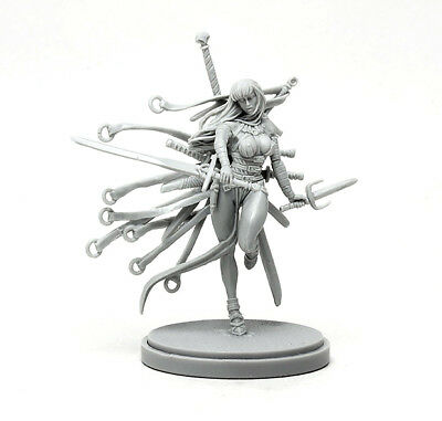 █ 30mm Resin KD Sword Hunter Unpainted Unassembled ONLY Figure WH091