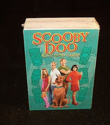 SCOOBY DOO Movie Story Cards   Complete  Trading Card Set