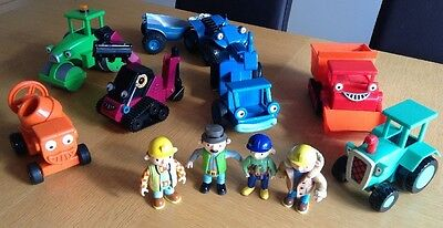 Bob The Builder Large Collection Of Characters & Vehicles