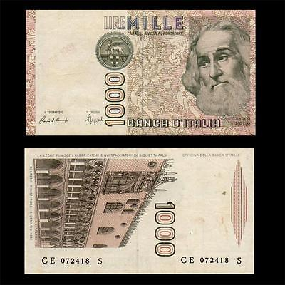 1982 Italy (Marco Polo), 1000 Lire - » Best Note «
