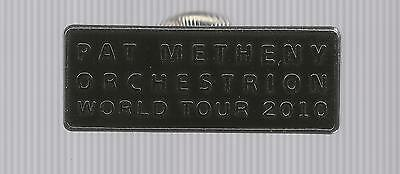 Orchestrion World Tour Pin * by Pat Metheny (2010, Post Back)