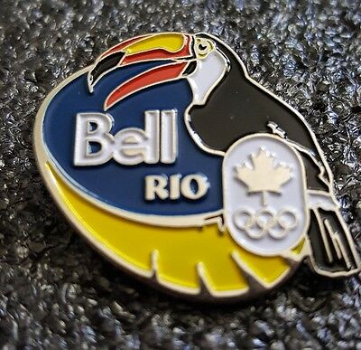 2016 Rio  Olympic Team Canada BELL NOC Toucan pin