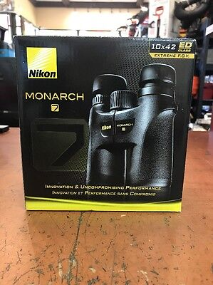 BRAND NEW Nikon Monarch 7 10x42 ATB Binoculars - Fogproof/Waterproof