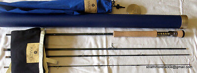Hardy Proaxis Sintrix Rod 9' 4 piece #8 + Tube Excellent + Condition