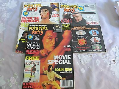 Three Martial Arts Magazines From 1995. Plenty Of Pictures And Famous Names.