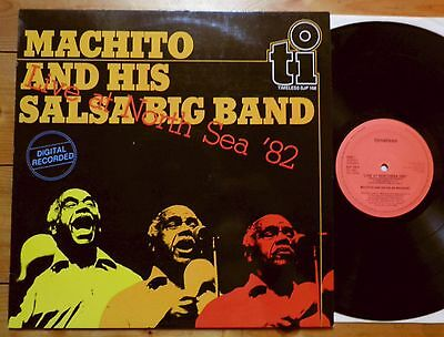 Machito and his Salsa Big Band - Live at North Sea '82 - NL 1982 Latin Jazz MINT