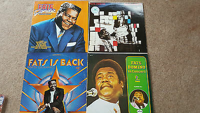 Fats Domino 4 x LP's What A Party, Is Back, In Concert, Singles