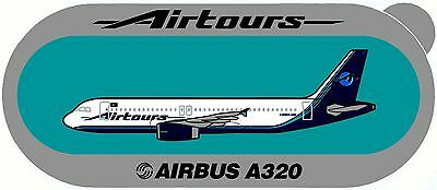 Airbus Sticker AIRTOURS A320 - V1