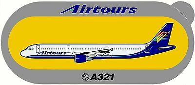 Airbus Sticker AIRTOURS A321