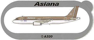 Airbus Sticker ASIANA AIRLINES A320
