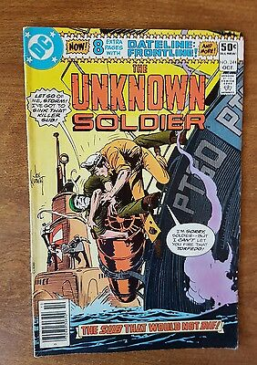 Unknown Soldier #244 Dc October 1980 Fine Very Fine Combine Shipping Rates