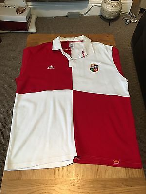 British Lions Adidas Rugby Union Shirt, Size XL, Very Rare, Excellent Condition