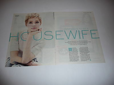 35+ Michelle Williams (Actress) Cuttings/Clippings (2011-17)
