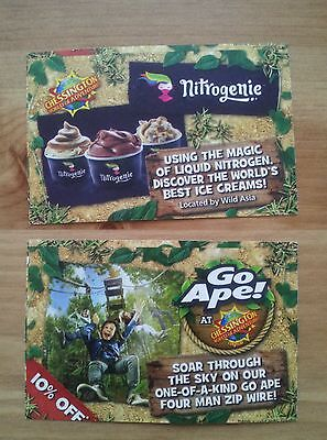 2 x Chessington world of adventures tickets for Wednesday 12th July