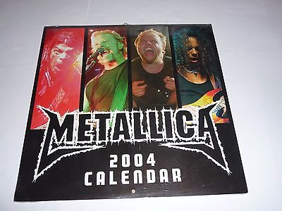 Metallica - 2004 Calendar SEALED
