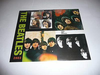 Beatles - 2003 Deluxe Calendar SEALED