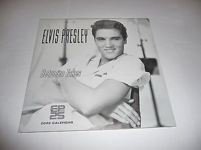 "Elvis Presley - 2002 Calendar ""Between Takes"" SEALED"