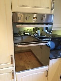 Hotpoint Electric Double Oven Dhs53Xs