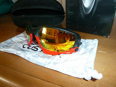 Oakley S-Works Specialized Black/ Red Jawbone Racing Jacket Glasses - BNIB RARE!