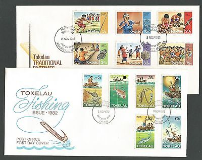Tokelau two FDCs