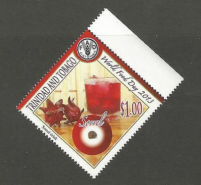 Trinidad & Tobago 2013 World Food Day $1 Sorrel, MNH