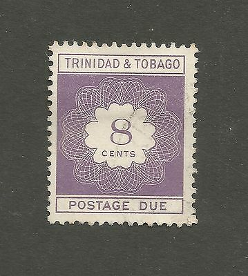 Trinidad and Tobago 1970 8c Postage Due, used. SG D37