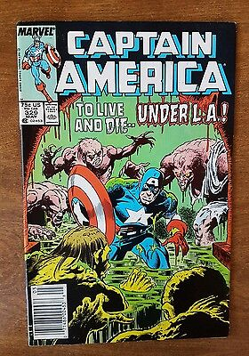 Captain America #329 Marvel May 1987 Very Fine Combine Shipping Rates