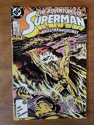 Adventures Of Superman #432 Dc September 1987 Mint Combine Shipping Rates