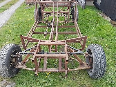 Kit car chassis rear engine project