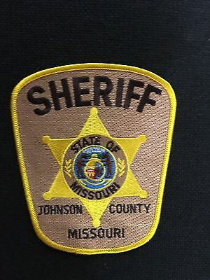 Johnson County  Missouri Sheriff  Shoulder Patch