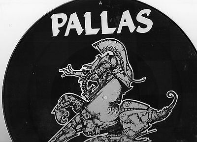 """Pallas - The Knightmoves Picture Disc 12"""" EP (Harvest)"""