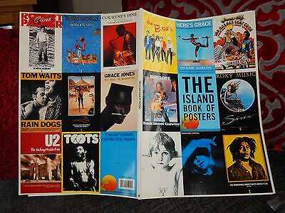 "THE ISLAND BOOK OF POSTERS x 30  ""MUSIC LABEL"" FROM 1991 EXCELLENT CON"