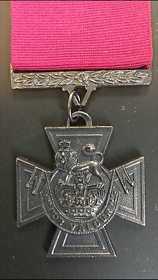 Victoria Cross Vc Full Size Copy Medal With Ribbon